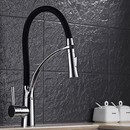 Wholesale Black Kitchen Pulls - E-pak BEST Oil Rubbed Bronze Finish Swivel Spout Kitchen Faucet Rotatable Spout Design for Kitchen Washing Mixer Tap