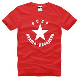 Wholesale Ussr Gold - New Summer CCCP Men T Shirt USSR Soviet Union T Shirts Men Cotton O Neck Cool T-shirt Short Sleeve Mens Tops Tees