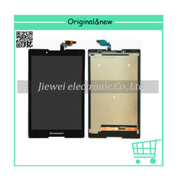 Wholesale Lcd Touch Screen For Tablet - Wholesale- free shipping For Tab 2 A8-50F A8-50LC A8-50 LCD Display+Touch Screen Digitizer Assembly Tablet PC Parts