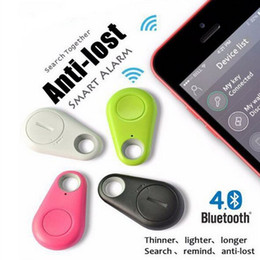 Wholesale Child Locator Gps Wholesale - 10pc Wireless Smart finder Bluetooth 4.0 Tracker Key Finder GPS Locator Anti-Lost Alarm Reminder For Car Child Wallet Pet Anti Lost