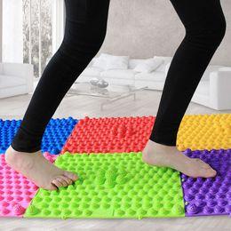 Wholesale Feet Massage Mat - Wholesale-1PC Portable Stimulates Blood Circulation Foot Massage Mat Acupressure Therapy