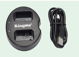 Wholesale Np Battery Charger - KingMa Double (Dual) Charger + (2-Pack) For Sony NP-FW50 Battery Alpha 7 a7 7R a7R 7S a7S a3000 a5000 a6000 NEX-3 NEX-3N NEX-5