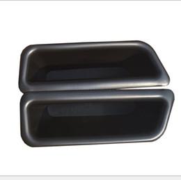 Wholesale Mustang Auto Accessories - 2pcs set Door Handles Storage Box Door Armrest Glove Box Armrest Box Decoration For Ford Mustang 2015 auto accessories
