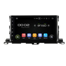 "Wholesale Toyota Highlander Navigation Dvd - Deckless CAPACTIVE 1024X600 HD screen 10.1"" Android 5.1.1 Fit TOYOTA Highlander 2015 2016 Car DVD Navigation GPS Radio 3G wifi obd2 player"