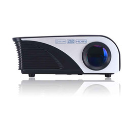 Wholesale Internet Homes - Wholesale-2016 Digital Internet projector Mowell 805, High Resolution, 5M projecting, 50000 hours' work time, for home & commercial use