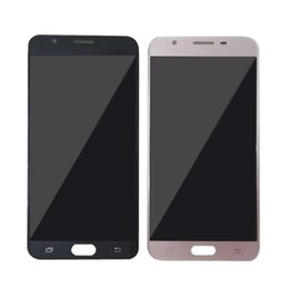 Wholesale Panels For Mobile Phones - For Samsung GALAXY On7 LCD display touch screen J7 prime G6100 G610F mobile phone 5.5 inch China free shipping Trade price
