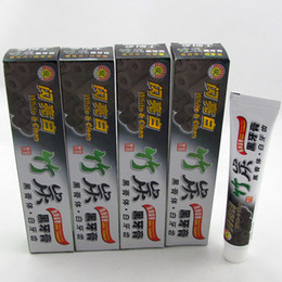 Wholesale Quality Charcoal - DHL 100g Charcoal Toothpaste Whitening Black Tooth Paste Bamboo Charcoal Toothpaste Oral Hygiene Product High Quality