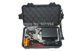 Wholesale Tattoo Machine Kits For Cheap - Wholesale-Tattoo Kit Professional with Best Quality Permanent Makeup Machine For Tattoo Equipment Cheap Black Tattoo Machines Kit Piercing