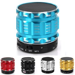 Wholesale Iphone Rechargable - Bluetooth Speaker Portable Mini Wireless Metal Speaker ,Rechargable Battery Support varied Color, Handsfree Call Music Mic For iPhone Samsun