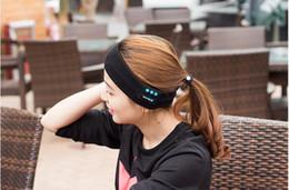 Bluetooth Music Hat Casque stéréo sans fil Bandeau lavable Couvre-chefs avec haut-parleurs Mic Hands Free pour courir Jogging Skating ? partir de fabricateur