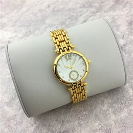 Wholesale Dress For Love - Luxury Brand GUEthinks Women watch Gold Sliver Automatic Movement watch Dress watch Stainless steel Love gift for Girl free shipping