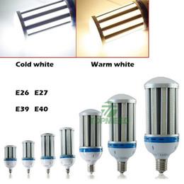 e27 bulbo led 36w Desconto DHL E27 E40 levou lâmpadas de milho lâmpada 24 W 27 W 36 W 45 W 54 W 80 W 100 W 120 W 3000 k 6000 k levou alta baía luzes de iluminação Led