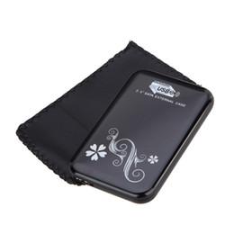 Outils de bureau gratuits en Ligne-Vente en gros - Pour Win 10 Sata à USB 3.0 HDD Case Tool Free 2.5Inch HDD SSD Boîte mobile Boîtier de disque dur externe pour ordinateur portable PC de bureau