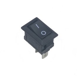 Wholesale Kcd1 Rocker Switch - 100 pieces lot 15*10 mm 2PIN Kcd1 Boat Rocker Switch SPST Snap-in ON OFF Position Snap 3A 250V MINI switch