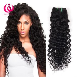 Wholesale Cheap 4bundles - Cheap Wholesale Price Malaysian Human Weave Hair Deep Wave 4Bundles Soft And Thick Unprocessed Brazilian Peruvian Virgin Hair Extensions