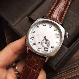 Calendário relógio de quartzo on-line-2017 melhor presente relógio de luxo moda feminina homens relógios calendário de prata de discagem pulseira de couro top marca VC relógios de pulso de quartzo para homens senhora relógio
