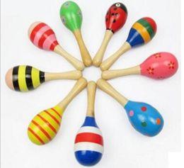 ours musicaux Promotion Bébé hochet jouet en bois Bébé hochet mignon jouets Instruments de musique Orff Jouets éducatifs