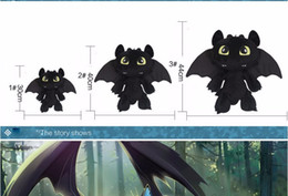 Wholesale Fury Game - 18cm The trainer master 2 Toothless Night Fury dragon plush toy gift for children baby toy free shipping
