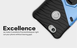 Caja del teléfono g9 online-Para HUAWEI NOVA / G9 Heavy Duty Hybrid Armor Case TPU + PC 360 Degree Rotación Kickstand Soporte Titular Funda de teléfono