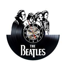 Wholesale Beatles Plastic - Beatles Classic Vintage Design Vinyl Record Clock