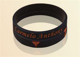 Wholesale Anthony Bangle - New fashion jewelry super star anthony signature sports balance wristband silicone energy bangle power bracelet free shipping