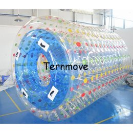 Wholesale Water Ball Rollers - inflatable water rollering ball,0.8mm pvc transparent water aqua balls,inflatable human hamster balls,walking roller on water