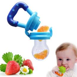 Wholesale Baby Milk Nipple - Baby Pacifier Clip Attache Sucette Kids Nipple Fresh Food Milk Nibbler Food Feeder Safe Baby Pacifier Bottles Nipple Teat
