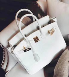 Wholesale Elegant Fashion Handbags - Wholesale-2015 New Arrival Leather Women Shoulder Bag Women Brand Lock Handbags Elegant Ladies Handbag Women Luxury Messenger Bags