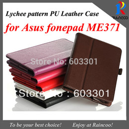 "Wholesale Asus Fonepad Me371 Case - Wholesale-For Asus fonepad ME371 case, 7"" ME371 tablet stand case, opp bag packing"