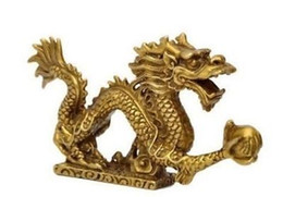 Wholesale Chinese Figurines Statues - Wholesale Cheap Chinese brass Dragon figurine Statue decoration