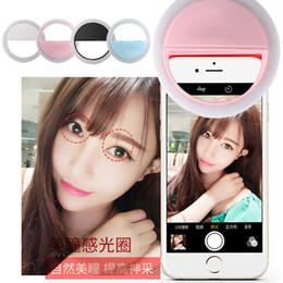 2019 кольцевая скорость LED кольцо Selfie свет вспышки прожектор дополнительное освещение повышение камеры фотографии Speedlite для iphone 6s 7 plus Samsung s7 s8 HTC дешево кольцевая скорость