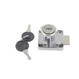 Wholesale Wholesale Drawer Locks - 1pc Drawer Lock 19mm Cylinder Dia. 22mm 32mm 38mm Cylinder Length With Keyed Alike Different Keys for Cabinet Cupboard Box