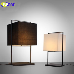 Wholesale Chinese Style Table Lamps - FUMAT Modern Simple Bedroom Desk Lamp Bedside Lamp Chinese Style Table Lamp Hotel Club Room Decoration Table Light LED