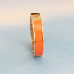 Wholesale H Links - 12mm Luxury Wrap H Bracelets & Bangles Women Wristband silver plated Enamel Letter Buckle Love Bracelets H Design Classic Brand Bangles