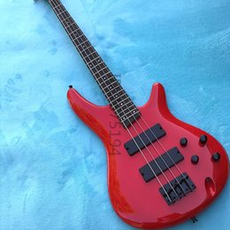 Wholesale Bass Pieces - Free shipping,Our classic red bass, basswood body Maple neck: 3 pieces, India rosewood sound perfect feel comfortable bar.