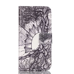 Wholesale I Phone Card Case - Magnetic Flip Case for Apple iphone6S i phone6S iPhone 6S Fashionable luxury Painting Case Phone Leather Cover for i Phone 6S