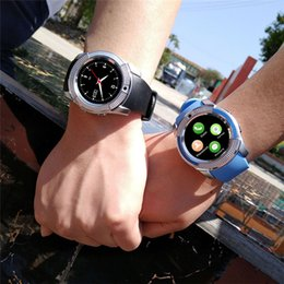 8 colores V8 Smart Watch Phone Bluetooth 3.0 IPS HD Full Circle Display MTK6261D Smartwatch para Android Sistema Smartphone en caja desde fabricantes