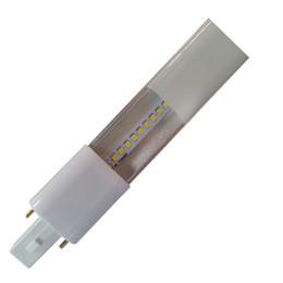 Wholesale Cfl Led - free shipping G23 led lamp Slim 4W G23 GX23 led PL light brightness 420LM G23 led bulb replace CFL light FREE SHIPPING