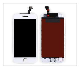 Wholesale Factory Replacement Parts - Hot Factory For iPhone 6  6 PLUS Lcd Display Touch Screen Digitizer Replacement parts in Full Assembly White Or Black