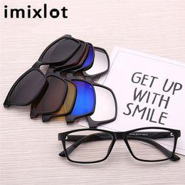 Atacado-IMIXLOT Polarized Magnetic Sunglasses Clipe Magnet Espelhado Clipe  em Óculos Homens Flip Miopia Mulheres Prescrição Óptica óculos magnéticos  óculos ... 7b1382fc82