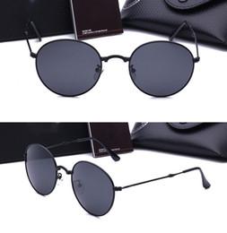 Wholesale Design Womens Sun Glasses - Original brand design Polarized foldable sunglasses Womens Steampunk folding sun glasses Fashion Designer uv400 Goggles with Original box