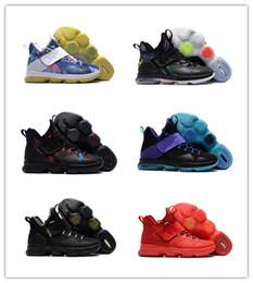 Wholesale Rio Plush - 2017 Wholesale New james 14 XIV Rio Luminous Coast SBR Men Basketball shoes women sports shoes sneakses trainers free shipping size 36-46