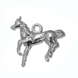 Wholesale Metal Horse Head - Vintage Metal Horse & Horse Head & Pet Dog Animals Charms Zinc Alloy Charms For Diy Necklaces Bracelets Making
