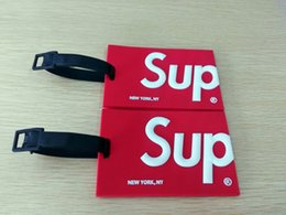 Wholesale Red Suitcase - Travel Accessories Luggage Tag Suitcase Baggage Boarding Tags Portable Label