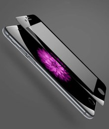 Wholesale Moq Screen Protector - Full-Screen Cover Soft Edge HD Tempered Glass Protectors For Iphone 8 7 7Plus Anti-Scratch Screen Protectors MOQ:5pcs Free Shipping