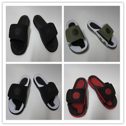 Wholesale Sport Shoe Novelty - Wholesale Hydro IX Retro 9 slippers men Slide Sandals basketball shoes sports causal outdoor high quality size us 7-13