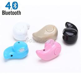 Auriculares con Bluetooth mini Estéreo Luz Inalámbricos Invisibles Elegantes Auriculares en el oído Respuesta de música, llamada S530 Auriculares para Apple Iphone 7 más desde fabricantes