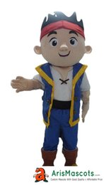Wholesale Mascot Costumes Jake - AM0181 Jake the Pirate Mascot costume, party costumes, EVA foam mascot fur mascot advertising