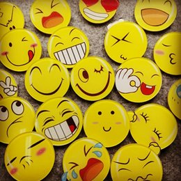 Wholesale China Wholesale Clothing For Children - Emoji Badge Novelty Accessories Pins Badge New Arrival Bag Clothing Accessories Cartoon Toys for Kids Children