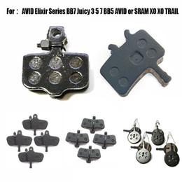 Wholesale Elixir Pads - Catazer Semi Metallic Bicycle Disc Bicycle Brake Pads For AVID Elixir Series 4 Pairs Free Shipping